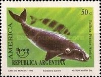 [America Issue - Endangered Animals, Whales & Dolphins, Typ BUQ]