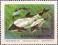 [America Issue - Endangered Animals, Whales & Dolphins, Typ BUR]