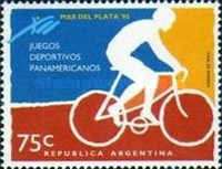 [The 12th Pan-American Games, Mar del Plata, Typ BWG]