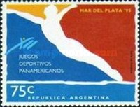 [The 12th Pan-American Games, Mar del Plata, Typ BWH]