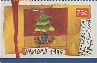 [Christmas - Imperforated on 2 or 3 Sides, Typ BXU1]