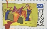 [Christmas - Imperforated on 2 or 3 Sides, Typ BXX]