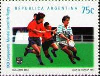 [The 29th Rugby World Cup, Argentina, Typ CAM]