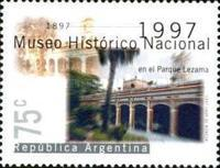 [The 100th Anniversary of the National History Museum, Buenos Aires, Typ CAS]