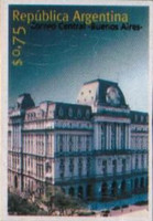 [Central Post Office, Buenos Aires - Self-Adhesive, Typ CBG1]