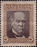 [The 100th Anniversary of the Birth of Domingo Faustino Sarmiento, 1811-1888, Typ CC]