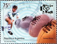 [The 100th Anniversary of the Argentine Rugby Union, Typ CFH]