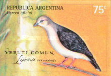 [Doves and Pigeon - Self Adhesive Stamps, type CIT]