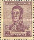 [Definitive Issues - General San Martin, type CJ14]
