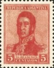 [Definitive Issues - General San Martin, type CJ19]