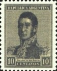 [Definitive Issues - General San Martin, type CJ20]