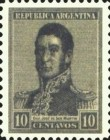 [Definitive Issues - General San Martin, type CJ25]