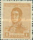 [Definitive Issues, General San Martin, type CJ28]