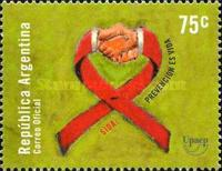 [America - AIDS Awareness, type CJO]
