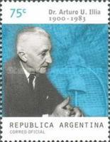 [The 100th Anniversary of the Birth of Arturo U. Illia - President, 1963-1966, type CJX]