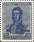 [Definitive Issues - General San Martin, type CK15]