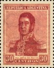 [Definitive Issues - General San Martin, type CK16]