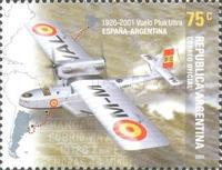 [The 75th Anniversary of the Major Ramon Franco's Flight from Spain to Argentina, Typ CML]