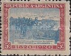 [The 100th Anniversary of the Death of General Manuel Belgrano, 1770-1820, type CN]