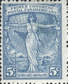 [The First Pan American Postal Congress, Typ CR1]