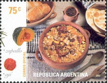 [Typical Argentine meals, Typ CSS]