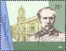 [The 100th Anniversary of the Death of Dr. Vicente Fidel Lopez, 1815-1903, Typ CTN]