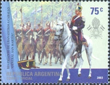 [The 100th Anniversary of General San Martin's Regiment of Mounted Grenadiers, Typ CTP]