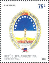 [Coat of Arms of the Rio Negro Province, Typ CTR]