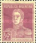 [Definitive Issues - General San Martin, with Period after Value, Typ CU]