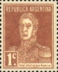 [Definitive Issues - General San Martin, with Period after Value, Typ CU1]