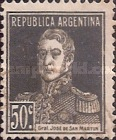 [Definitive Issues - General San Martin, with Period after Value, Typ CU11]