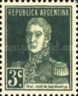 [Definitive Issues - General San Martin, with Period after Value, Typ CU3]