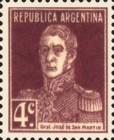 [Definitive Issues - General San Martin, with Period after Value, Typ CU4]