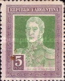 [Definitive Issues, General San Martin, Typ CV1]