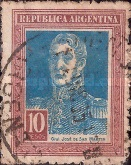 [Definitive Issues, General San Martin, Typ CV2]
