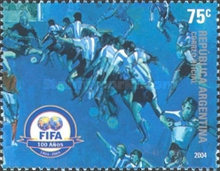 [The 100th Anniversary of FIFA, Typ CVC]