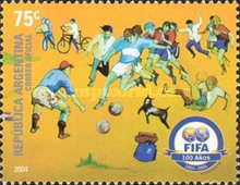 [The 100th Anniversary of FIFA, Typ CVD]