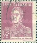[Definitive Issues - General San Martin, without Period after Value, Typ CW]