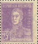 [Definitive Issues - General San Martin, without Period after Value, Typ CW10]