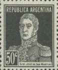 [Definitive Issues - General San Martin, without Period after Value, Typ CW12]
