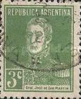 [Definitive Issues - General San Martin, without Period after Value, Typ CW3]