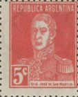 [Definitive Issues - General San Martin, without Period after Value, Typ CW5]