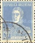 [Definitive Issues - General San Martin, without Period after Value, Typ CW8]