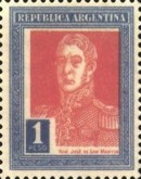 [Definitive Issues - General San Martin in Large Format, Typ CX]