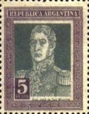 [Definitive Issues - General San Martin in Large Format, Typ CX1]