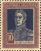 [Definitive Issues - General San Martin in Large Format, Typ CX2]