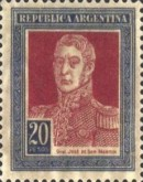 [Definitive Issues - General San Martin in Large Format, Typ CX3]