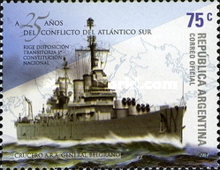 [The 25th Anniversary of the South Atlantic Conflict, Typ DDJ]