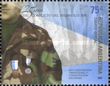 [The 25th Anniversary of the South Atlantic Conflict, Typ DDK]