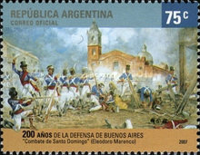 [The 200th Anniversary of the Defence of Buenos Aires, Typ DEE]